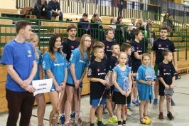 Badmintomania - I Regionalny Turniej o Puchar Dyrektora Zespołu Szkół w Lipianach