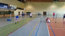 Mistrzostwa szkół powiatu pyrzyckiego w badmintonie