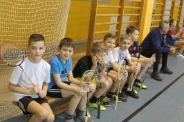 Feryjny Powiatowy Turniej Badmintona_4