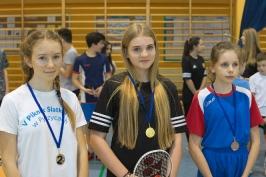 Feryjny Powiatowy Turniej Badmintona