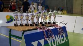 IV i VII miejsce w Finałach Wojewódzkich w Badmintonie Drużynowym w ramach Igrzysk Dzieci - Sianów 2017_1