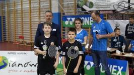 IV i VII miejsce w Finałach Wojewódzkich w Badmintonie Drużynowym w ramach Igrzysk Dzieci - Sianów 2017_20