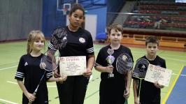 IV i VII miejsce w Finałach Wojewódzkich w Badmintonie Drużynowym w ramach Igrzysk Dzieci - Sianów 2017_21