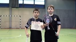 IV i VII miejsce w Finałach Wojewódzkich w Badmintonie Drużynowym w ramach Igrzysk Dzieci - Sianów 2017_23