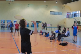 Medale w badmintonie powiatowym w ramach ID i IMS