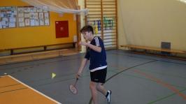 Feryjny Powiatowy Turniej Badmintona - Kozielice_16