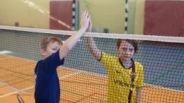 Feryjny Powiatowy Turniej Badmintona - Kozielice_17