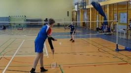 Feryjny Powiatowy Turniej Badmintona - Kozielice_1