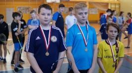 Feryjny Powiatowy Turniej Badmintona - Kozielice_20