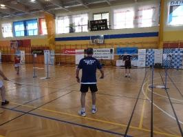 Seniorski Turniej Badmintona o Puchar Burmistrza Ośna Lubuskiego_1