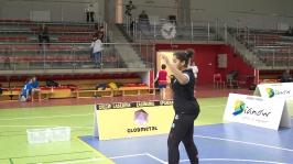 IV i VII miejsce w Finałach Wojewódzkich w Badmintonie Drużynowym w ramach Igrzysk Dzieci - Sianów 2017_10