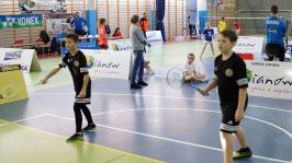 IV i VII miejsce w Finałach Wojewódzkich w Badmintonie Drużynowym w ramach Igrzysk Dzieci - Sianów 2017_15