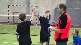 IV i VII miejsce w Finałach Wojewódzkich w Badmintonie Drużynowym w ramach Igrzysk Dzieci - Sianów 2017_16