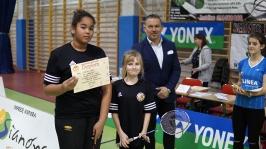 IV i VII miejsce w Finałach Wojewódzkich w Badmintonie Drużynowym w ramach Igrzysk Dzieci - Sianów 2017_19