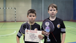 IV i VII miejsce w Finałach Wojewódzkich w Badmintonie Drużynowym w ramach Igrzysk Dzieci - Sianów 2017_22